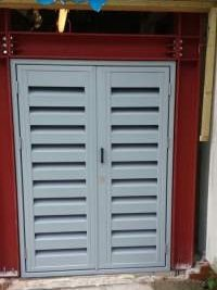 Double Acoustic Louvre Doors - Portsmouth University