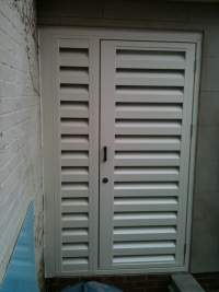 Leaminton Spa - Acoustic Louvre Door System