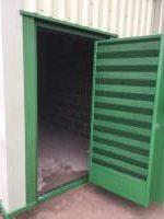 Plantroom - Acoustic Louvre Door (open)
