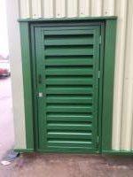 Plantroom - Acoustic Louvre Door
