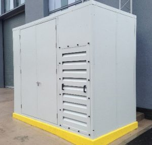 enclosure for compressor/generator