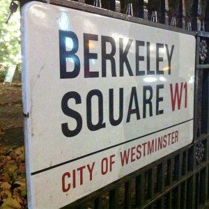 Berkeley Square Sign
