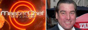 Ross Burden and a Masterchef logo